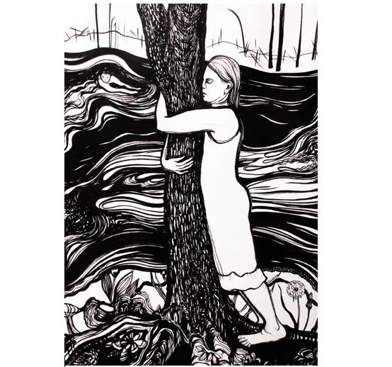 Kunstudstilling #1 – Endnu en fortælling om hullet i hegnet